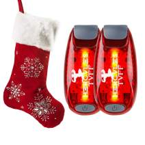 Hercules Tuff Safety Lights for Kids | Running Lights for Runners | Excellent Stocking Stuffer idea for Kids, Teens, Dog Walkers, Bikers & More!