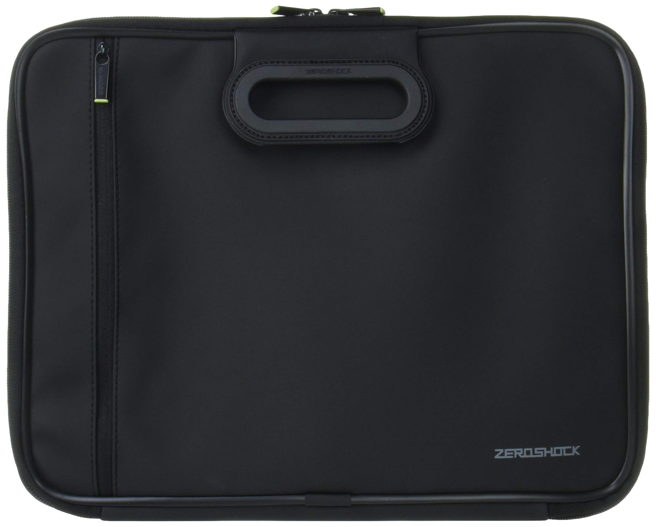 ELECOM Zero Shock Protective Sleeve, Water-Resistance up to 13.3 inch Laptop with The Carry Handle/Black/ZSB-IBNH13BK