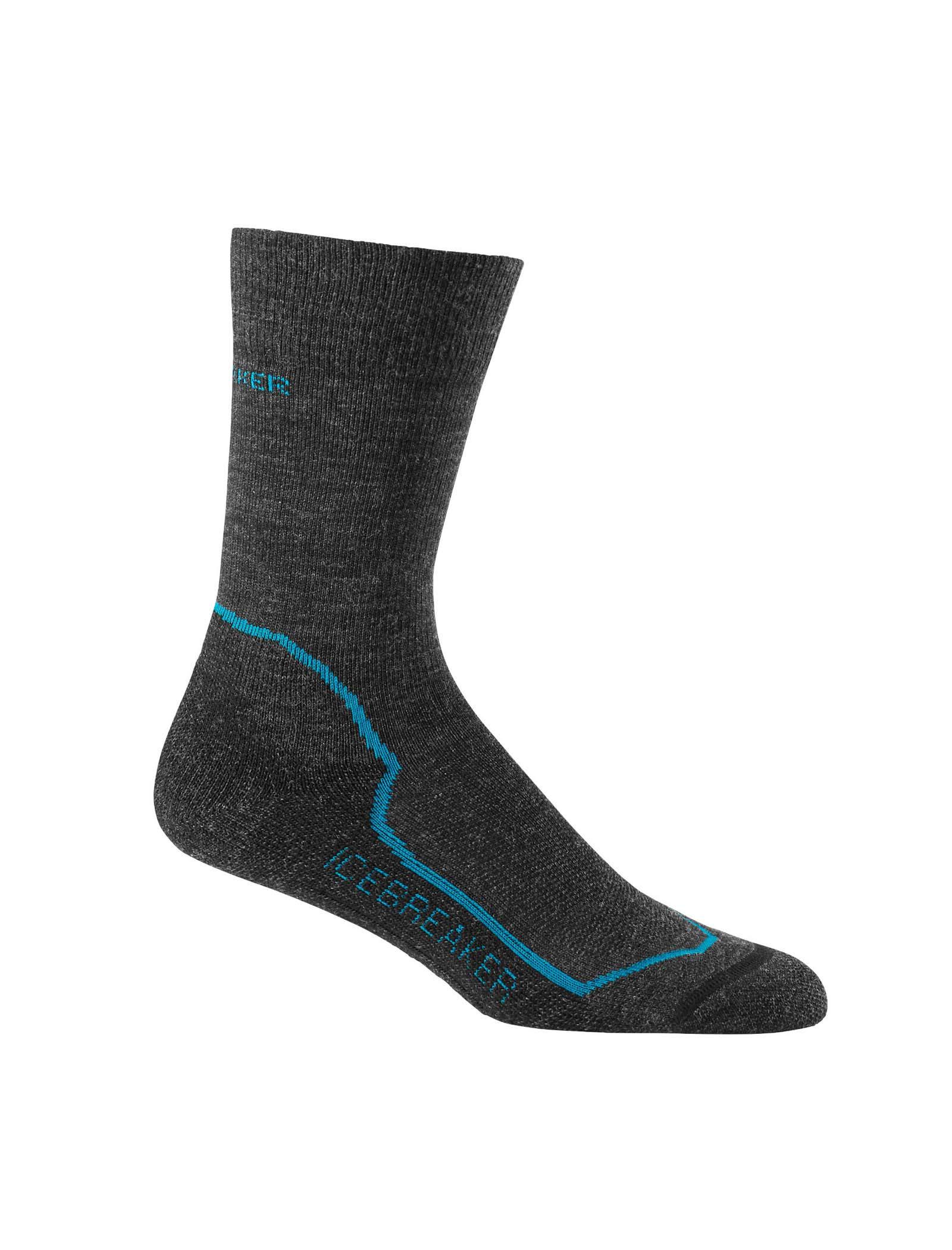 Icebreaker Merino Hike+ Medium Crew Hiking-Socks