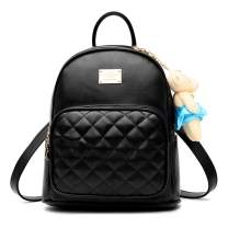 Freie Liebe Women Fashion Backpack Purse Multipurpose Shoulder Handbags PU Leather Large Ladies Travel Bag