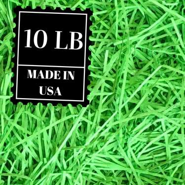 Recyclable Paper Easter Grass Made in USA Set of Three