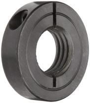 "Boston Gear CSC8714 Clamping Shaft Collar, Steel, 0.875"" Bore, 1.875"" OD, 0.500"" Width"