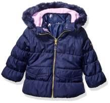 Osh Kosh Girls' Toddler 4 in 1 Heavyweight Systems Jacket