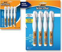 Wite-Out Shake 'n Squeeze Correction Pen, 8 ml, White, 4/Pack (WOSQPP418), 1 Set