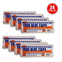 """True Blue 18"""" Professional Paint Roller Covers, Best for All Types of Paint (24, 3/8"""" Nap)"""
