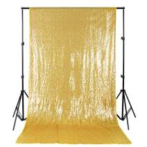 Sequin Photo Background 4ftx6.5ft Gold Sequin Backdrop Christmas Photo Booth Sparkly backdrops for Photography