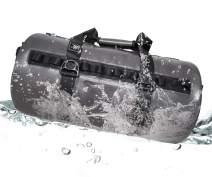 MIER 100% Waterproof Dry Duffel Bag with Watertight TIZIP Zipper, TPU Submersible Bag for Rafting, Kayaking, Boating, Camping, Beach