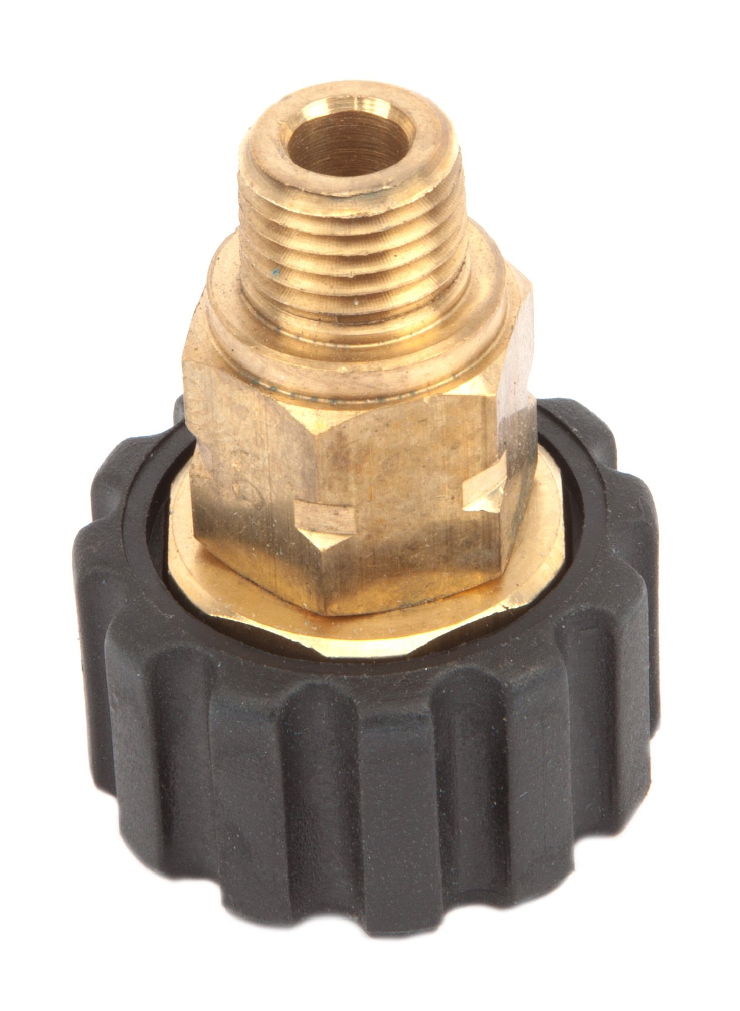 Forney 75107 Pressure Washer Accessories, Male Screw Coupling, M22F to 1/4-Inch Male NPT