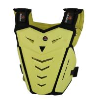 RIDBIKER Motorcycle Armor Vest Motorcycle Riding Chest Armor Back Protector Armor Motocross Off-Road Racing Vest,Yellow