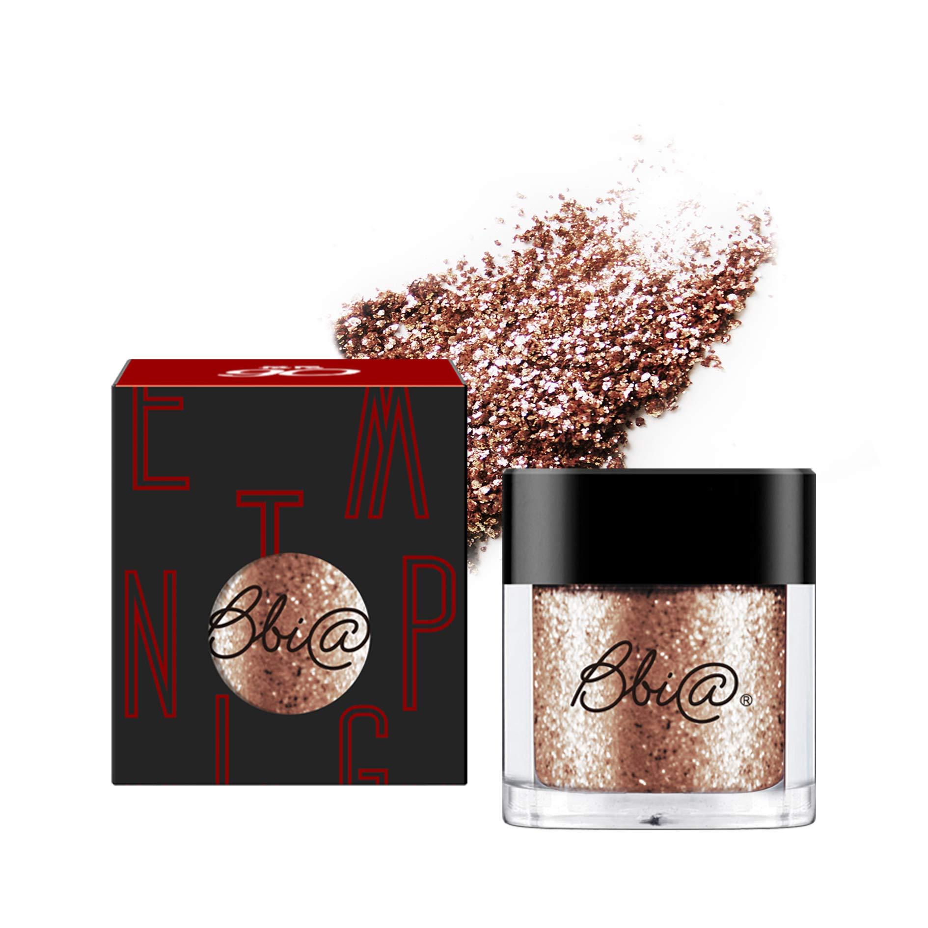BBIA Pigments Glitter Eyeshadow, 5Light Series (08 Perfect Diamond Bronze) 0.06oz