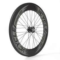 VCYCLE Nopea 700C Carbon Fiber Wheelset 88mm Clincher Fixed Gear Single Speed 32/32 Holes