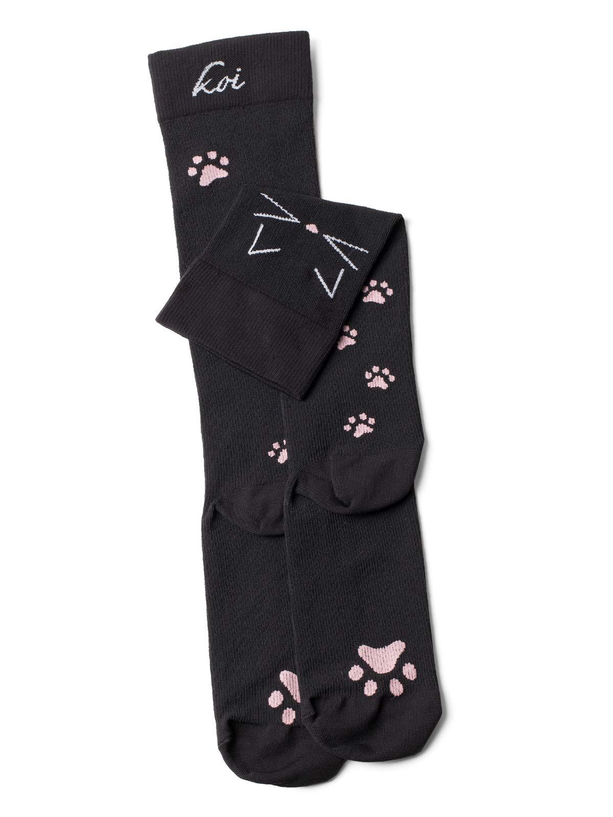Koi Women's Compression Socks Print Design
