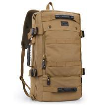 XINCADA Travel Backpack Canvas Backpacks Hiking Daypacks Vintage Rucksack Outdoor Sports Camping Bags for Men