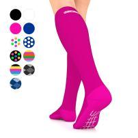 Go2 Compression Socks for Men Women Nurses Runners| Medium Compression Stockings