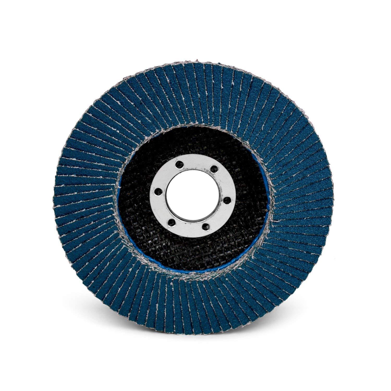 3M Flap Disc 566A, T29 QuicK Change, 4-1/2 in x 5/8-11, 40, 10 per case