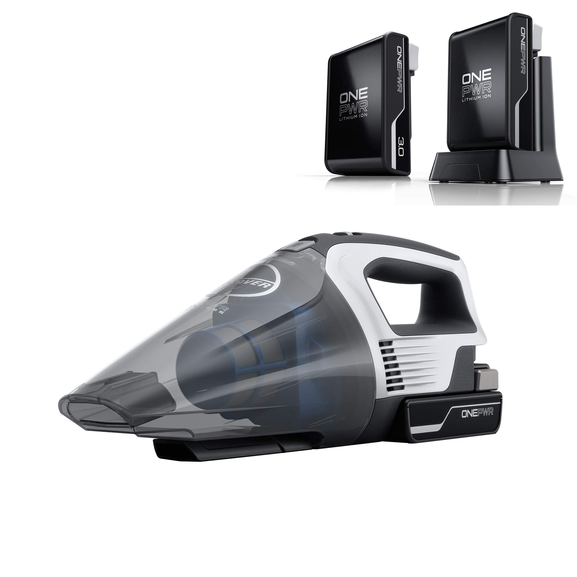 Hoover ONEPWR Cordless Hand Held Vacuum Cleaner with Additional 3Ah Battery, BH57005, BH15030