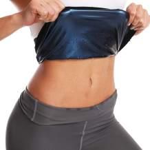 Nigecue Waist Trimmer for Women, Waist Trainer Sweat Workout Shaper, Sauna Belt