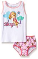 Nickelodeon Girls' Paw Patrol Skye Underwear and Tank Set