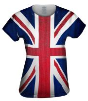Yizzam- Union Jack -Tshirt- Womens Shirt