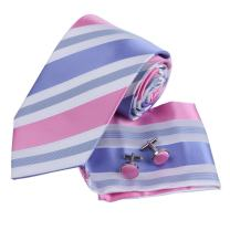 Men's Fashion Silk Tie Hanky Cufflinks Sets Classic For Mens By Epoint