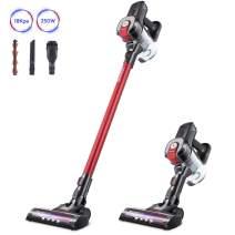 DEENKEE Cordless Vacuum DS100, 6 in 1 Handheld Stick Vacuum Cleaner 18KPa 250W Powerful Cleaning Lightweight Vacuum for Home Hard Floor Carpet Car Pet
