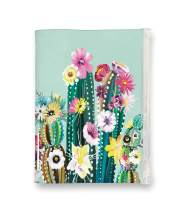 Studio Oh! Pouch Journal, Desert Blossoms on Mint (POJ01)