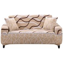 FORCHEER Slipcovers for Couches Stretch Geometric Sofa Cover 4-Seater Leather Furniture Protector from Pet for Home Living Room