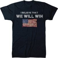 I Believe That We Will Win World Cup Men's Modern Fit Tri-Blend T-Shirt