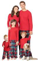 PajamaGram Family Pajamas Matching Sets Fleece Matching Christmas PJs for Family
