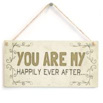 "Meijiafei You are My Happily Ever After… - Beautiful Romantic Home Accessory Gift Sign 10""x5"""