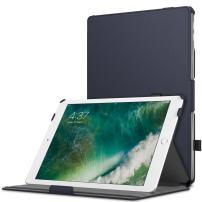 MoKo Case Fit 2018/2017 iPad 9.7 6th/5th Generation - Slim-Fit Multi-Angle Folio Cover Case with Auto Wake/Sleep Compatible with iPad 9.7 Inch 2018/2017, Indigo