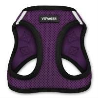 """Voyager Step-in Air Dog Harness - All Weather Mesh, Step in Vest Harness for Small and Medium Dogs by Best Pet Supplies - Purple, Small (Chest: 14.5"""" - 17"""")"""