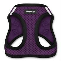 "Voyager Step-in Air Dog Harness - All Weather Mesh, Step in Vest Harness for Small and Medium Dogs by Best Pet Supplies - Purple, Small (Chest: 14.5"" - 17"")"