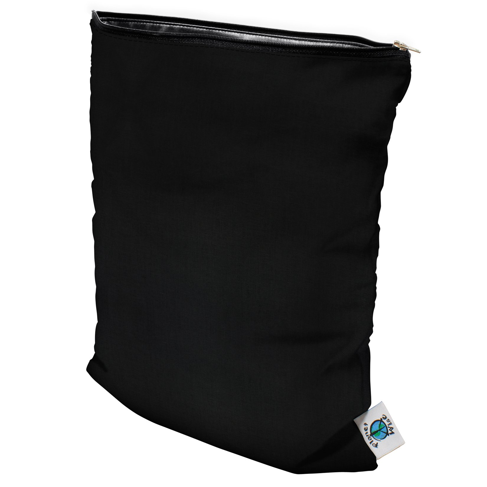 Planet Wise Wet Bag, Medium, Black (Made in The USA)