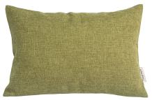 """TangDepot Heavy Lined Linen Cushion Cover, Throw Pillow Cover, Rectangle Pillow Covers, Decorative Cushion Cover Pillowcase - (12""""x20"""", Green)"""