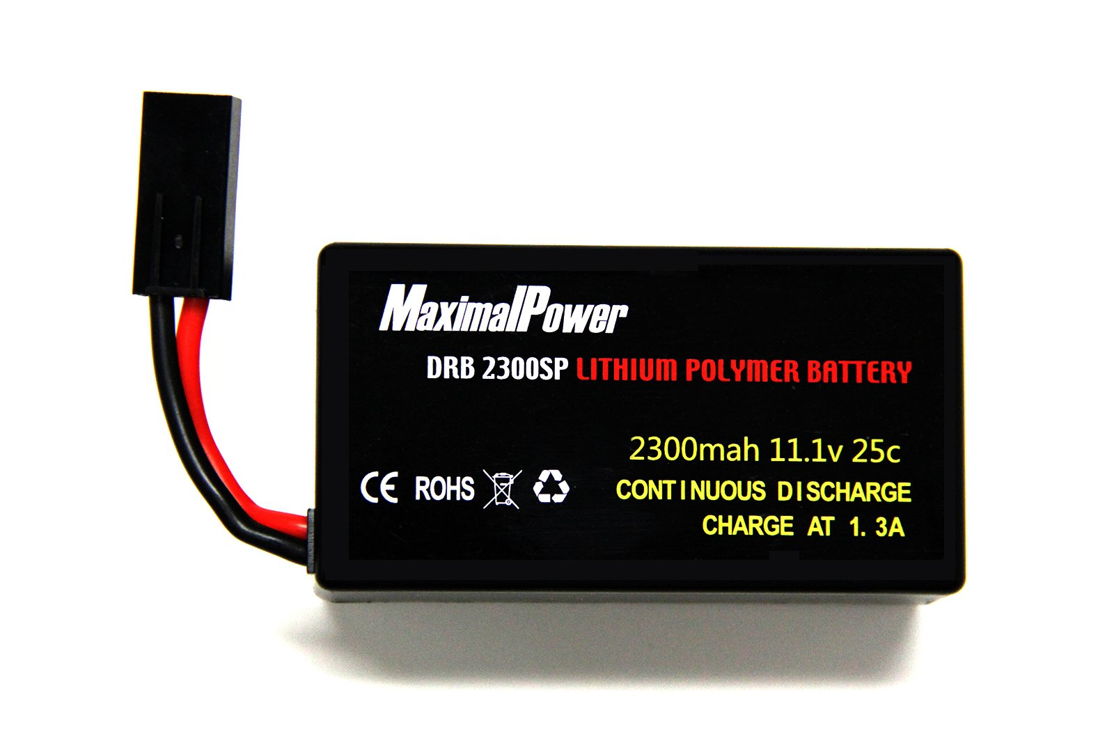 MaximalPower Gifi Power LiPo Battery or Charger for Parrot AR.Drone 2.0 & 1.0 Quadricopter (1 Battery 2300mAh)
