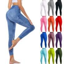 Famous Leggings on Tiktok Yoga Pants for Women High Waist Bubble Hip Sports Pant