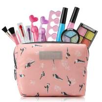 Kids Toys for 3 4 5 6 7 8 Year Old Girls, Kids Makeup Kit for Girl with Cosmetic Bag, Girl Gifts for Age 3-8