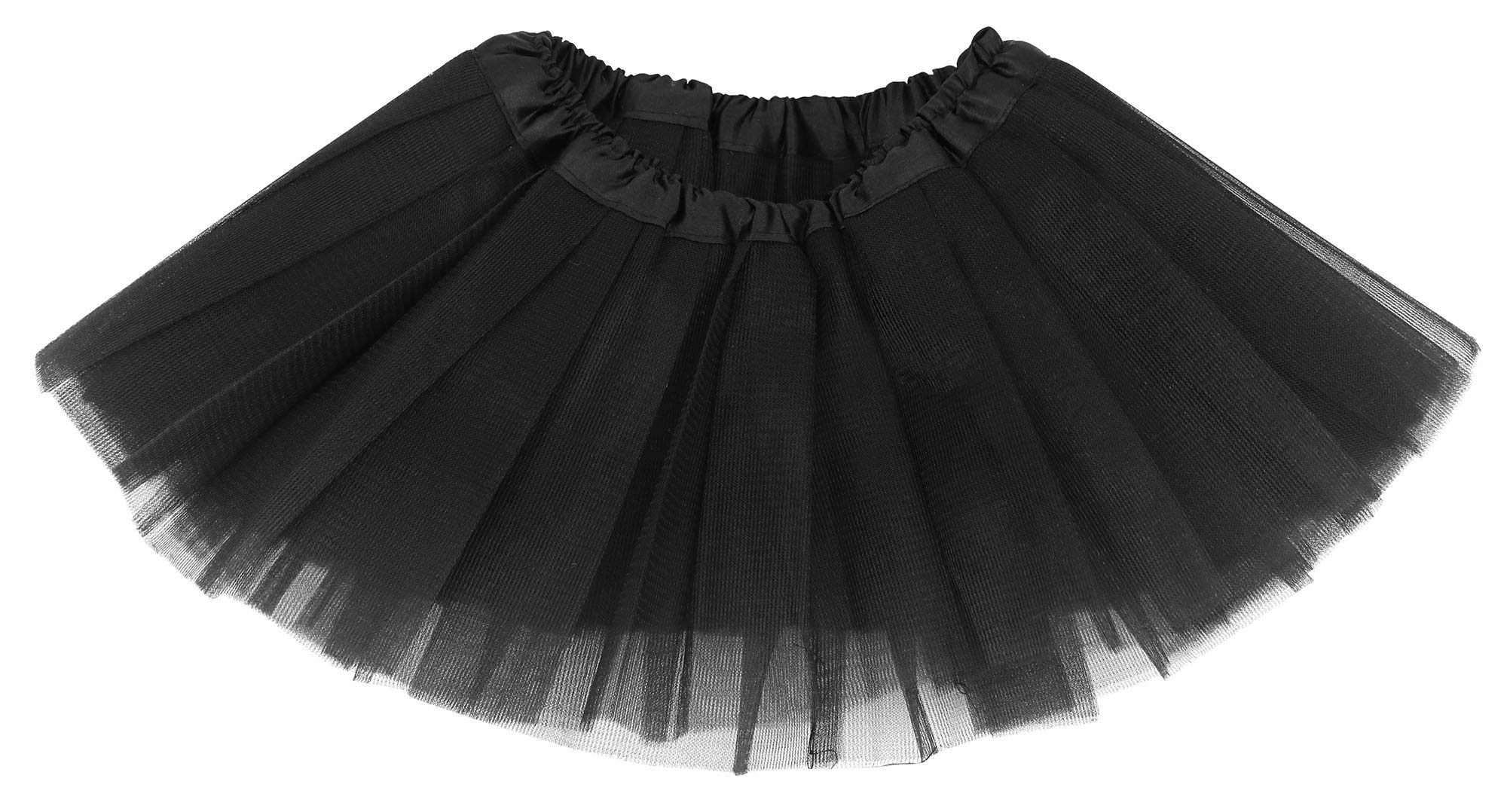 Baby Girl's 4 Layered Tulle Classic Princess Ballet Costume Dress-up Tutu Skirt