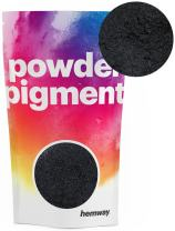 Hemway Pigment Powder Colour Luxury Ultra-Sparkle Dye Metallic Pigments for Epoxy Resin, Polyurethane Paint (Metallic Charcoal Black, 50g / 1.75oz)