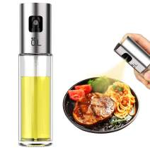 XUECHEN Olive Oil Sprayer Dispenser Glass Bottle for Kitchen,Salad,Bread Baking,Frying,Cooking,Roasting,Grilling,Premium Glass Oil Vinegar Soy Sauce Sprayer