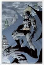 "Trends International DC Comics - Batman - Cape Wall Poster, 22.375"" x 34"", White Framed Version"