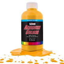US Art Supply Canary Yellow Opaque Acrylic Airbrush Paint 8 oz.