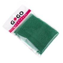 GOGO 4 Inch Terry Cloth Sweatband, Athletic Cotton Wristbands