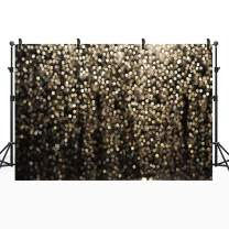 7x5ft Vinyl Photo Backdrop for Selfie Birthday Party Pictures Photo Booth Props Graduation Prom Dance Decorations Wedding Vintage Bokeh Backdrop Studio Backdrop Backgrounds for Photography