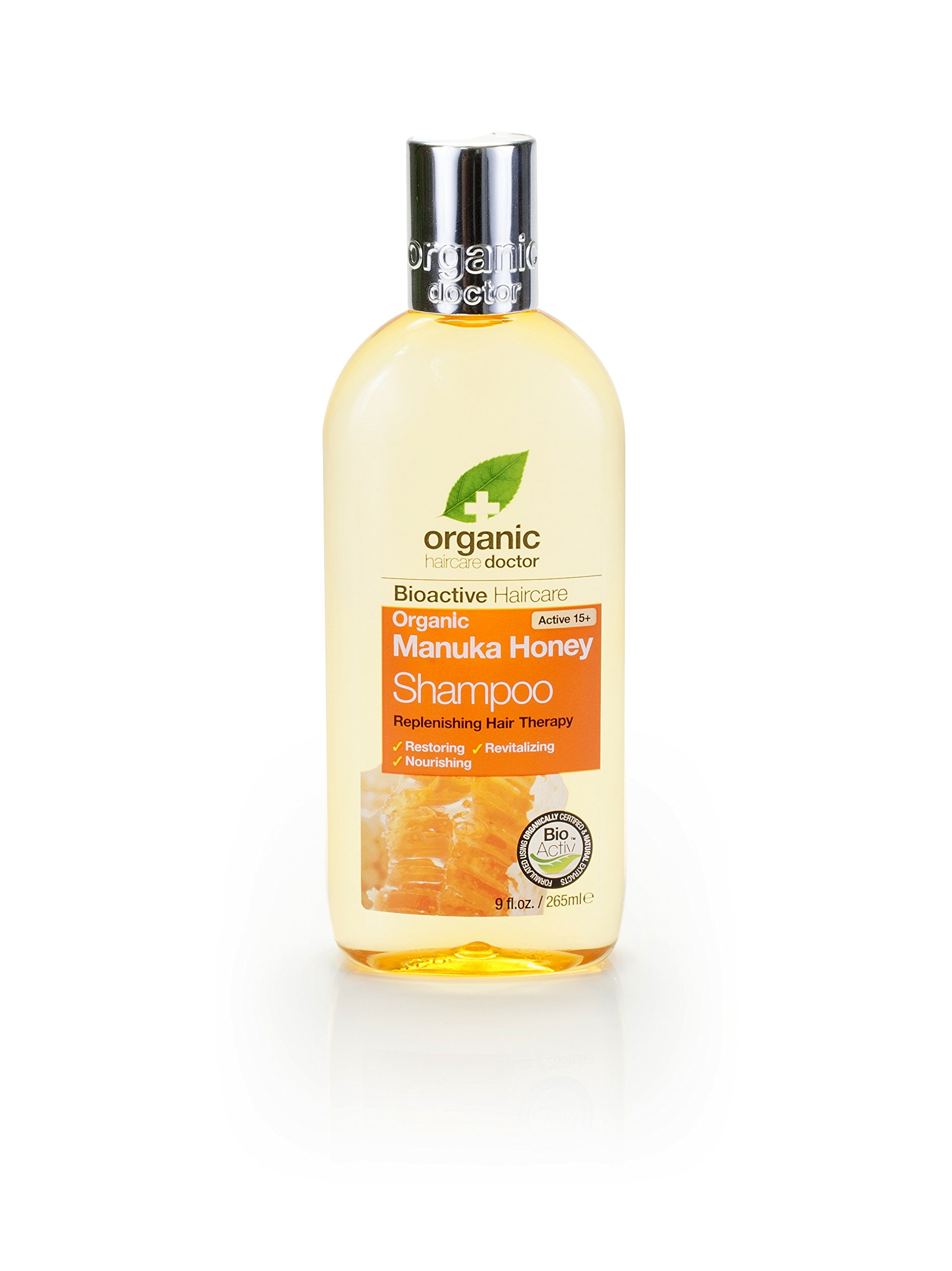 Organic Doctor Manuka Honey, Shampoo, 9 Fluid Ounce