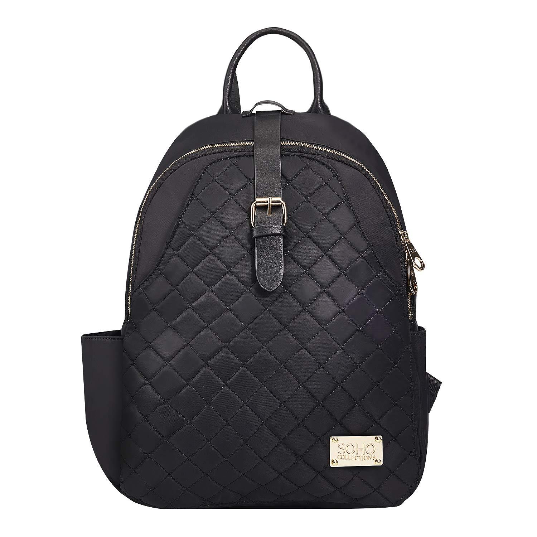 SoHo Helena Diaper Backpack Bag Vegan Leather