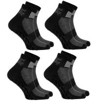2,4,or 6 pairs of Black Non-slip Socks ABS, Sports: Yoga, Pilates, all sizes