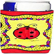 Lady Bug Ultra Beverage Insulators for slim cans LD6046MUK