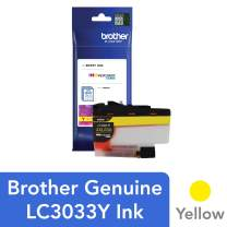 Brother Genuine LC3033Y, Single Pack Super High-Yield Yellow INKvestment Tank Ink Cartridge, Page Yield Up to 1,500 Pages, LC3033, Amazon Dash Replenishment Cartridge